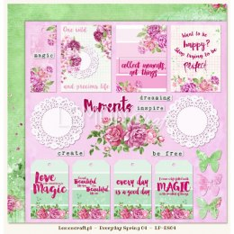 Dwustronny papier do scrapbookingu - Everyday Spring 04
