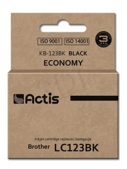 Actis tusz do Brother LC123Bk new KB-123Bk