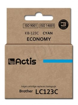 Actis tusz do Brother LC123C new KB-123C