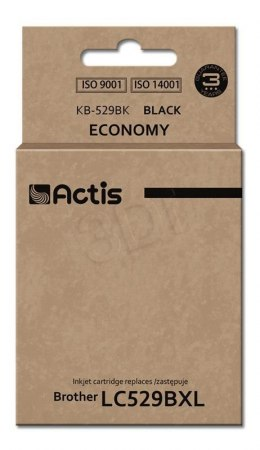 Actis tusz do Brother LC529Bk new KB-529Bk