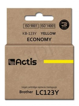 Actis tusz do Brother LC123Y new KB-123Y