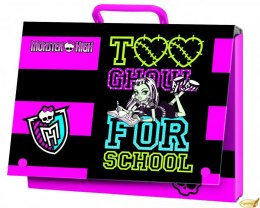 Teczka z rączką A4 MONSTER HIGH MATTEL