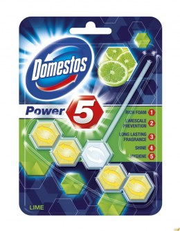 Kostka do WC POWER 5 lime 9x55g Domestos