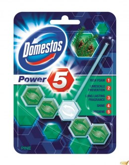 Kostka do WC POWER 5 pine 9x55g Domestos