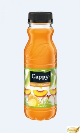 Napój CAPPY MULTIWITAMINA 0.33l PET