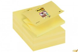 Karteczki samoprzylepne Post-it Super Sticky Z-Notes do podajników, żółte,76x127mm, 90 kartek