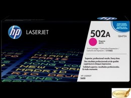 Toner HP 502A (Q6473A) purpurowy 4000str