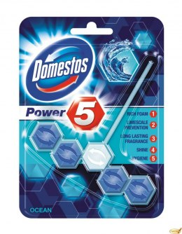 Kostka do WC POWER 5 ocean 9x55g Domestos