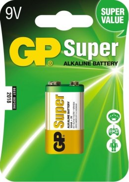 Bateria SUPER alkaiczna 6LR61 9V GP Batteries