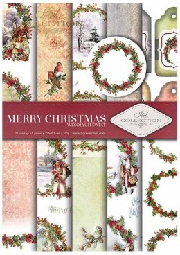 ".Papier do scrapbookingu SCRAP-021 ""Merry Christmas"""