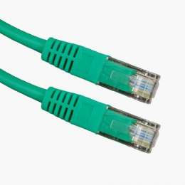 Kabel UTP CAT 5E PATCHCORD 5M zielony Esperanza