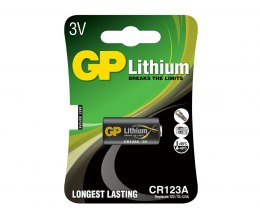 Bateria CR123A-U1 LITHUM 3V GP Batteries