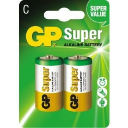 Bateria SUPER alkaiczna LR14C (2) GP Batteries