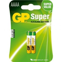 Bateria SUPER alkaiczne AAAA 25A-U2 GP Batteries