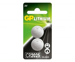 Bateria guzikowa LITHUM CR2025 -U2 GP Batteries